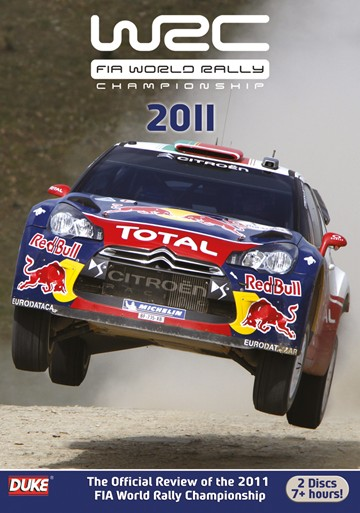 World Rally Review  2011 ( 2 Disc) DVD - click to enlarge