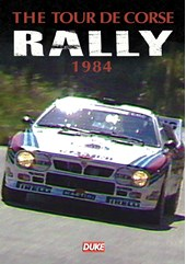 Tour De Corse Rally 1984 Duke Archive DVD