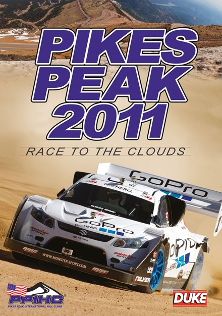 The 2011 Pikes Peak International Hill Climb DVD
