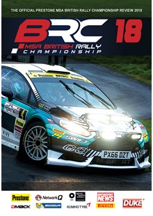 British Rally Championship Review 2018 DVD