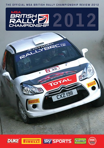 British Rally Championship Review 2012 DVD - click to enlarge