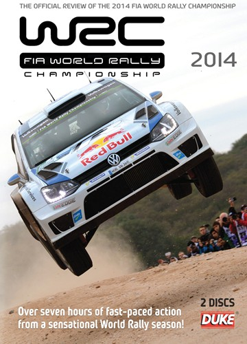 World Rally Review 2014 (WRC)( 2 Disc) DVD - click to enlarge