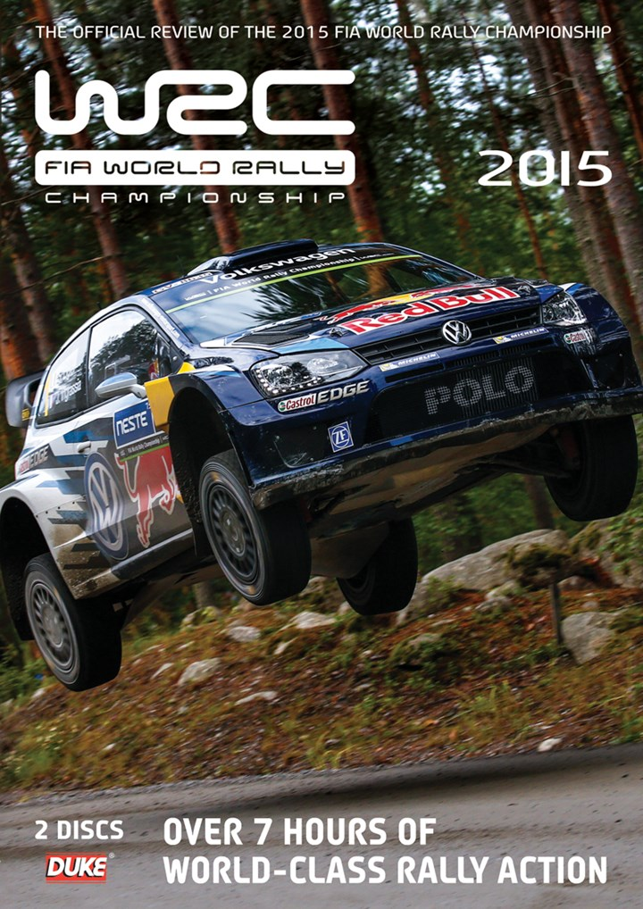 World Rally Review 2015 (WRC)( 2 Disc) DVD