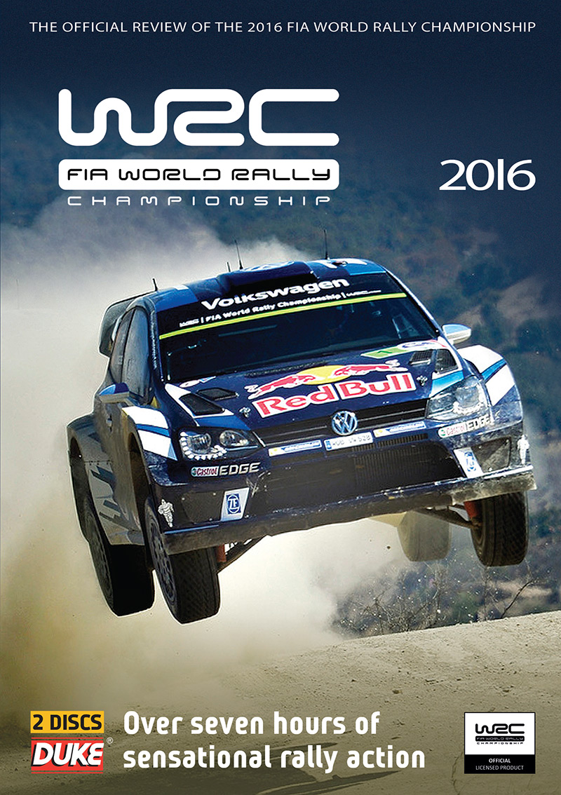 World Rally Review 2016 (WRC)( 2 Disc) DVD : Duke Video