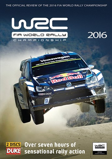World Rally Review 2016 (WRC)( 2 Disc) DVD - click to enlarge