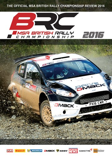 British Rally Championship Review 2016 DVD - click to enlarge