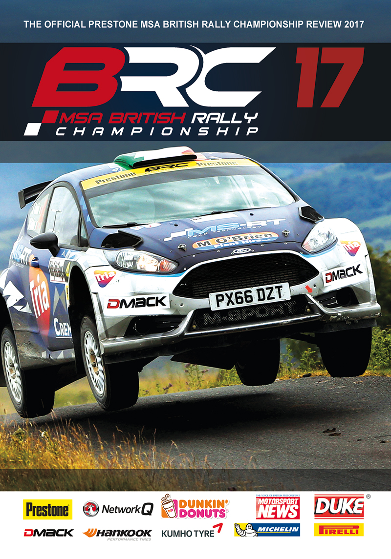 British Rally Championship Review 2017 DVD : Duke Video