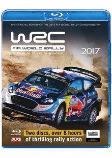 World Rally Championship 2017 Review (2 Disc) Blu-ray