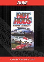 Hot Rods From Detroit Duke Archive DVD