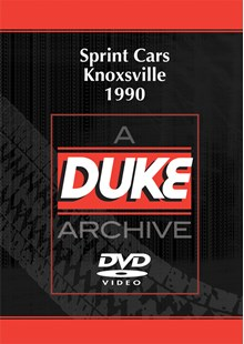 Sprint Cars Knoxville 1990 Duke Archive DVD