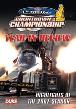 NHRA Drag Review 2007 DVD