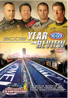 NHRA Drag Review 2008 DVD