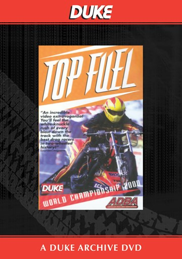 Top Fuel World Championships 2000 Duke Archive DVD - click to enlarge