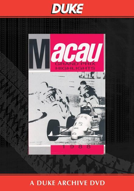 Macau GP 1988 Duke Archive DVD