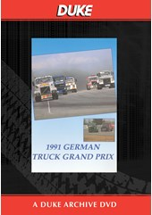 German Truck GP 1991 Duke Archive DVD