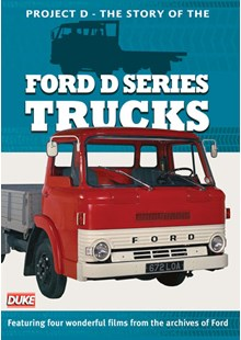 Project D. Ford D Series Trucks DVD