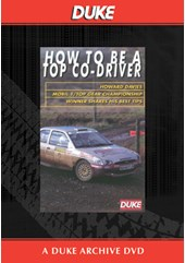 How to be a Top Co-Driver Duke Archive DVD