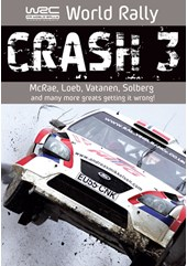 WRC Great Crashes Vol 3 DVD