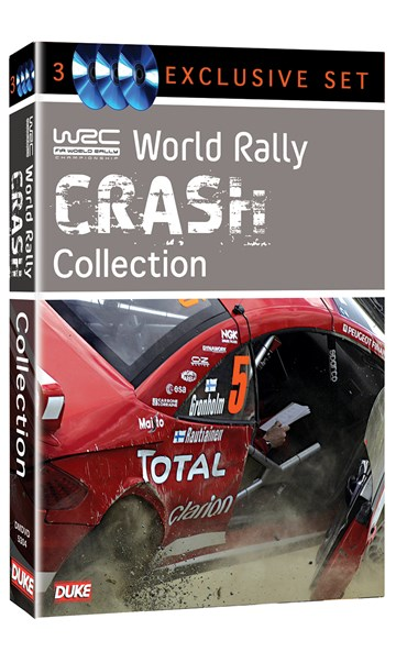WRC Crash Collection (3 Disc) DVD - click to enlarge