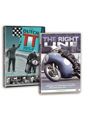 Dutch TT 1954 & The Right Line DVD Bundle