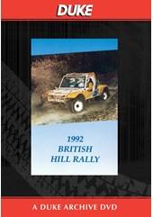 British Hill Rally 1992 Duke Archive DVD