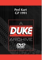 Peel Kart GP 1991 Duke Archive DVD