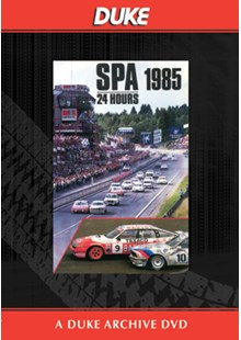 Spa 24 Hours Saloon Car Race 1985 Duke Archive DVD