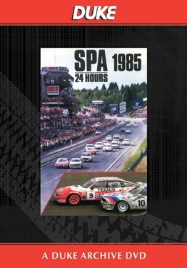 Spa 24 Hours Saloon Car Race 1985 Duke Archive DVD - click to enlarge