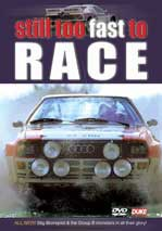 Still Too Fast to Race DVD NTSC