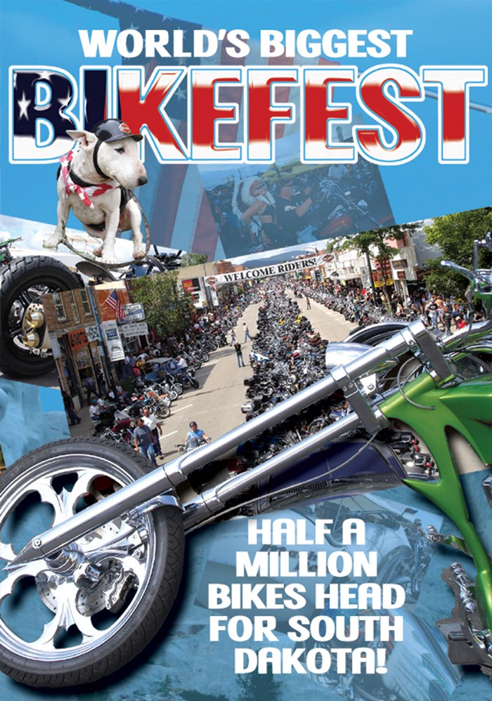 World's Greatest Bikefest DVD