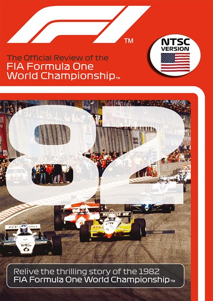 F1 1982 Official Review NTSC DVD