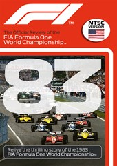 F1 1983 Official Review NTSC DVD