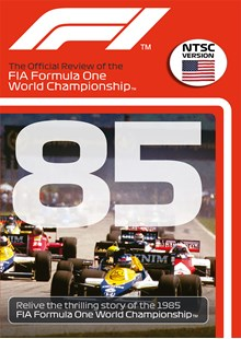 F1 1985 Official Review NTSC DVD