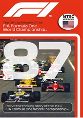 F1 1987 Official Review NTSC DVD