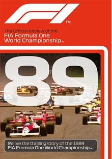 F1 1989 Official Review DVD