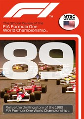 F1 1989 Official Review NTSC DVD