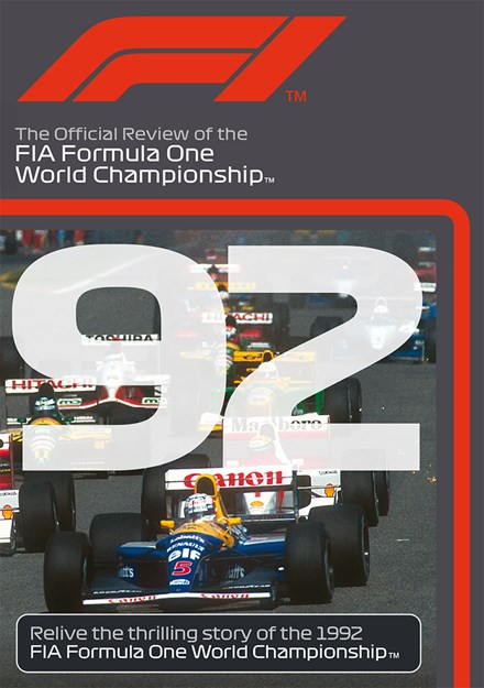 F1 1992 Official Review DVD