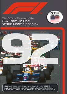 F1 1992 Official Review NTSC DVD