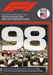 F1 1998 Official Review NTSC DVD