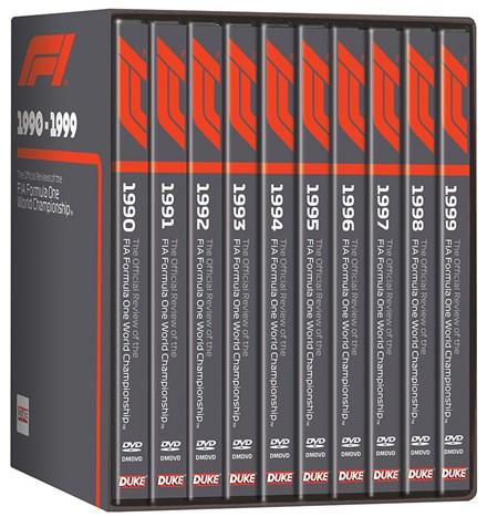 F1 1990-99 NTSC (10 DVD) Box Set