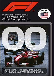 F1 2000 Official Review NTSC DVD