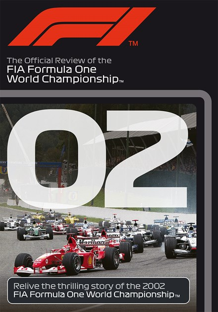 F1 2002 Official Review DVD