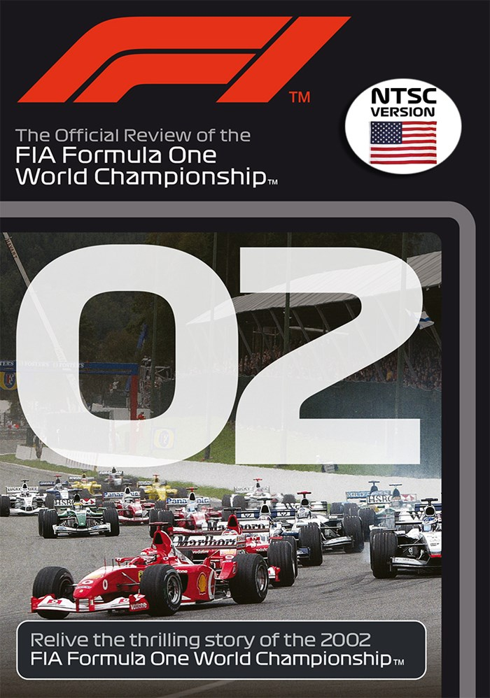 F1 2002 Official Review NTSC DVD