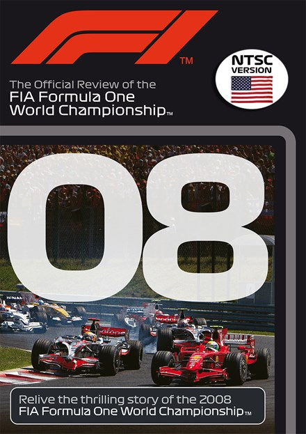 F1 2008 Official Review NTSC DVD