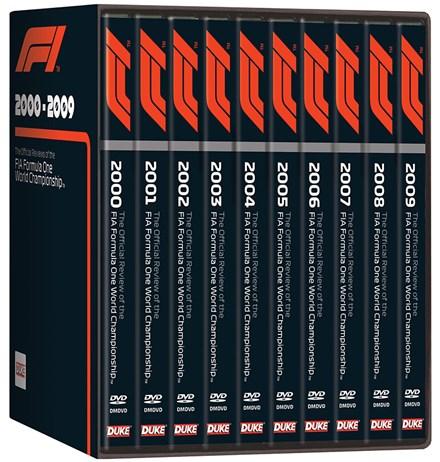 F1 2000-09 NTSC (10 DVD)  Box Set