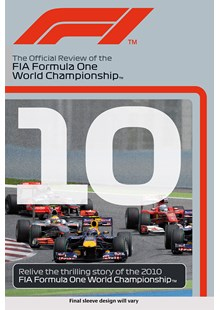 F1 2010 Official Review DVD