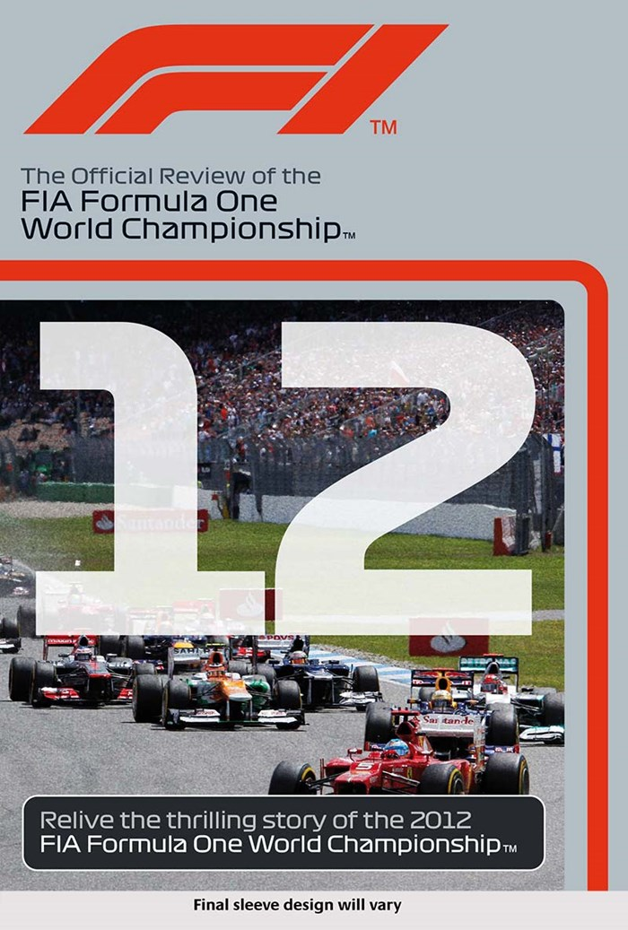 F1 2012 Official Review NTSC DVD