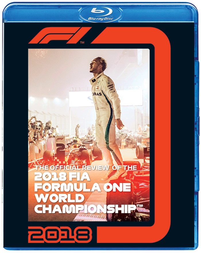 F1 2018 Official Review Blu-ray