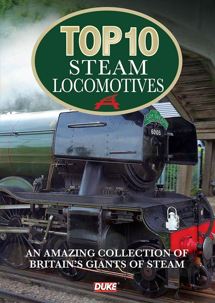 Top 10 Steam Locomotives DVD