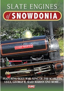Slate Engines of Snowdonia DVD